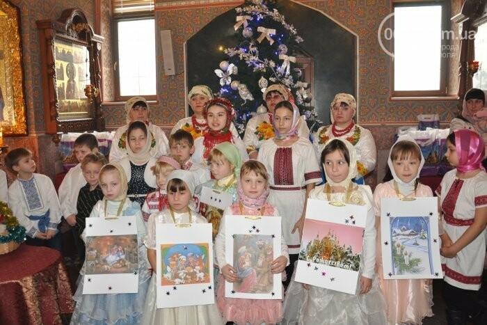 На Рождество в Свято-Покровском храме с. Боевое верующие соревновались в исполнении щедривок (Аэросъемка), фото-22
