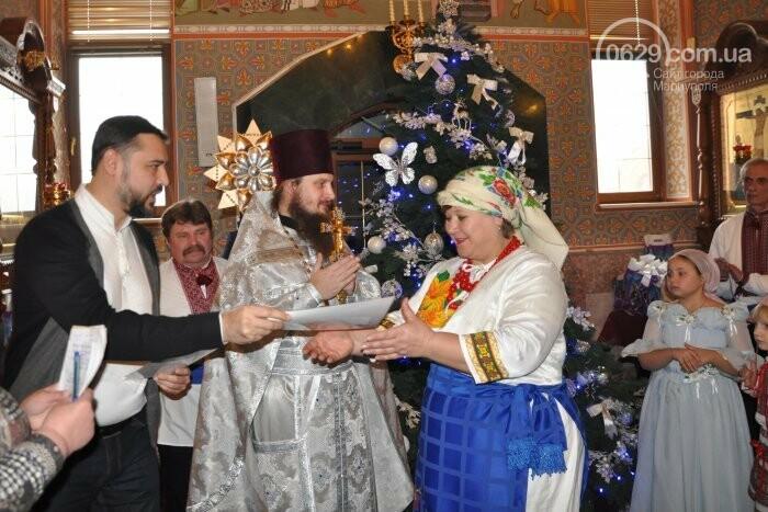 На Рождество в Свято-Покровском храме с. Боевое верующие соревновались в исполнении щедривок (Аэросъемка), фото-33