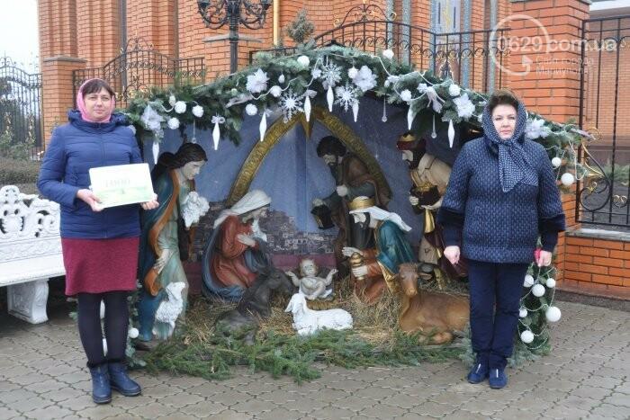 На Рождество в Свято-Покровском храме с. Боевое верующие соревновались в исполнении щедривок (Аэросъемка), фото-35
