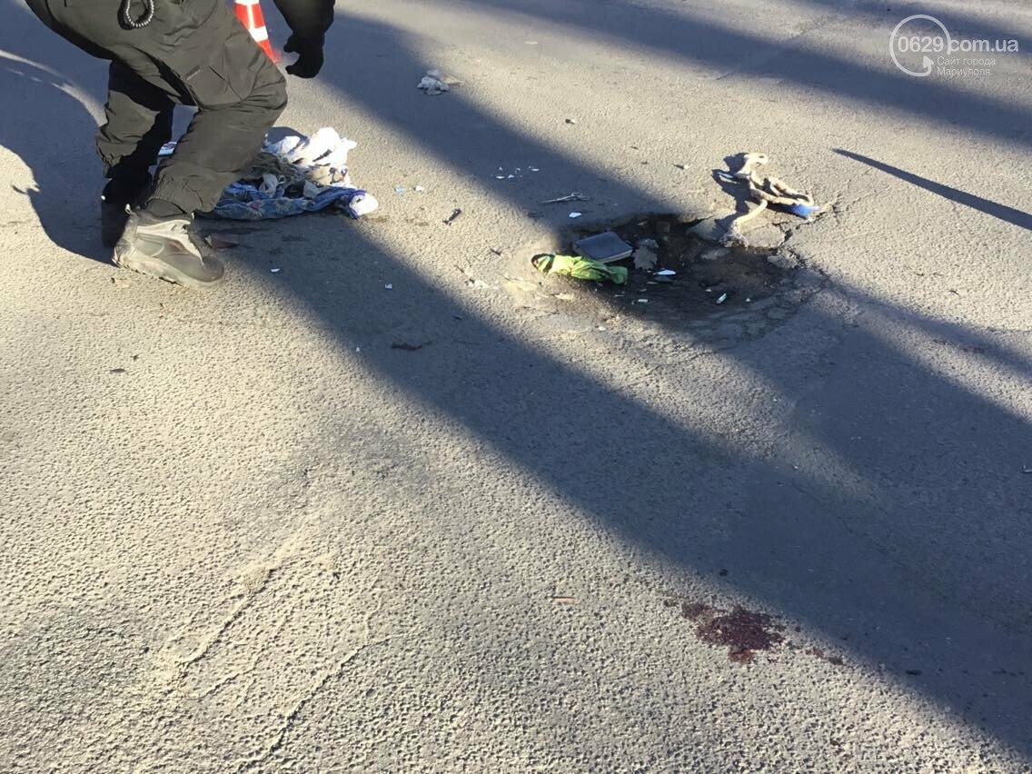 В Мариуполе в аварии пострадал  скутерист (ФОТО) , фото-1
