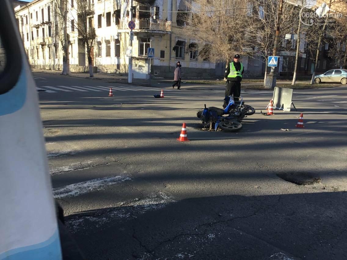 В Мариуполе в аварии пострадал  скутерист (ФОТО) , фото-9