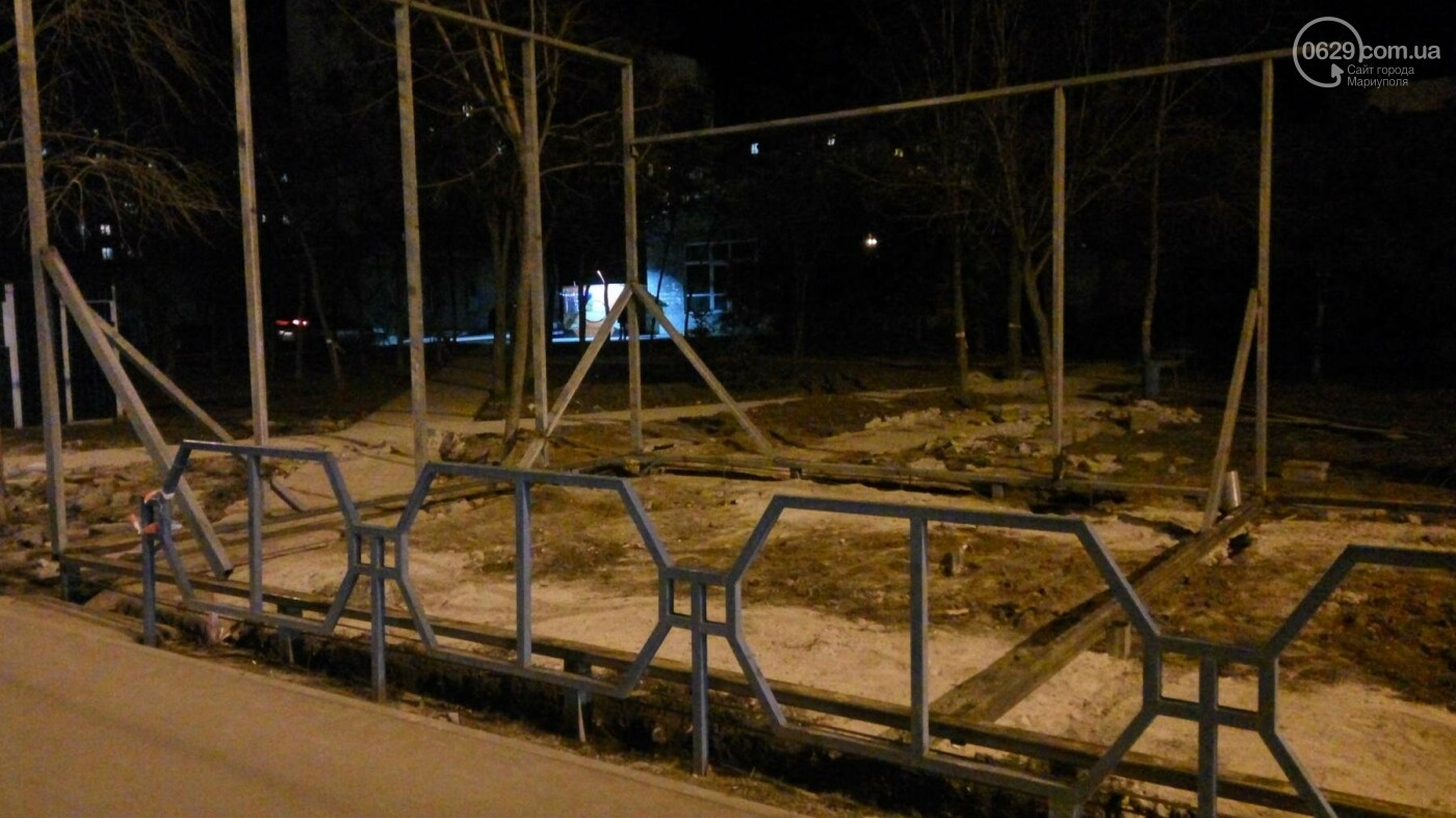 """В Мариуполе часть территории сквера """"Надежда"""" отдали под МАФы (ФОТО), фото-1"""