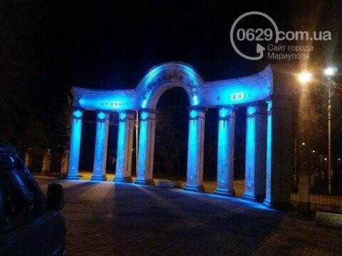 В Городском саду художественно подсветили арку (ФОТО), фото-1