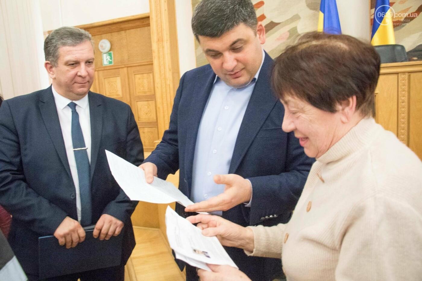 В Мариуполе Гройсман пообещал металлургам справедливые пенсии (ФОТО), фото-3