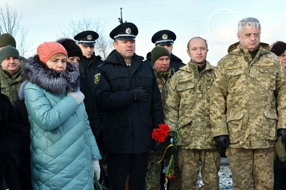 Полиция Донетчины почтила память жертв теракта под Волновахой (ФОТО), фото-3