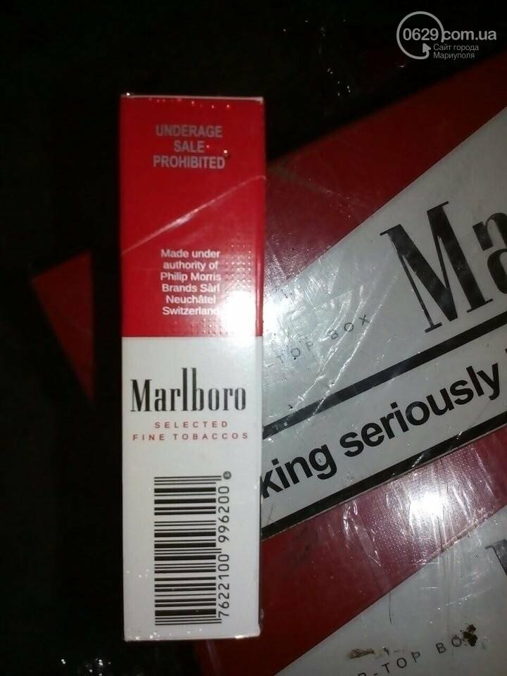 Контрабанда сигарет не доехала в Мариуполь (ФОТО), фото-2