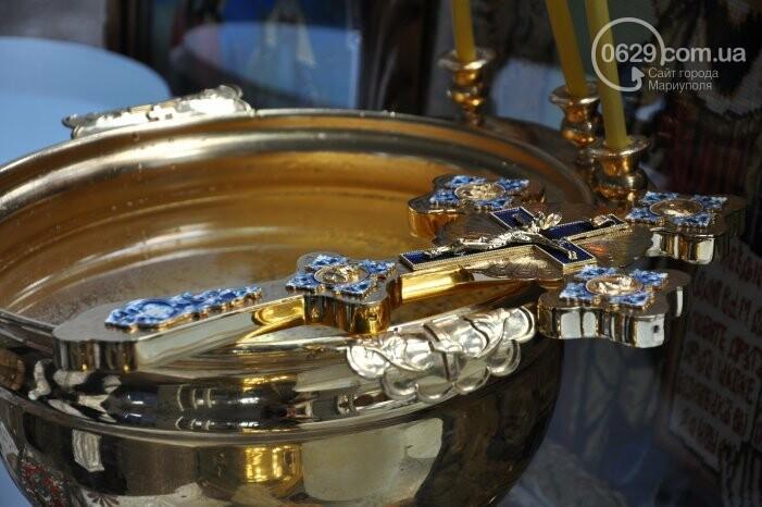 В канун Богоявления на мариупольском заводе питьевых вод освятили Крещенскую воду, фото-8