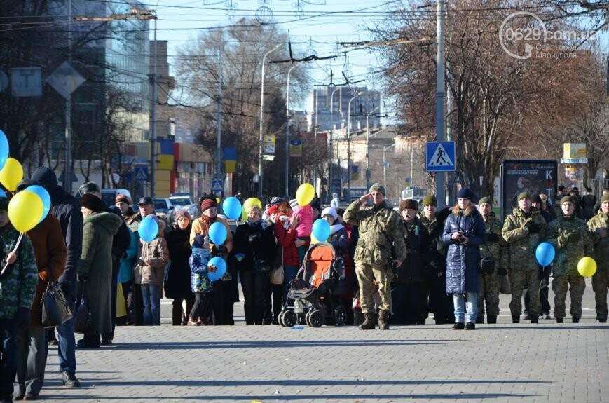 Флешмоб мариупольцев в День соборности  и годовщина трагедии в Донецке. О чем писал 0629.com.ua 22 января, фото-6