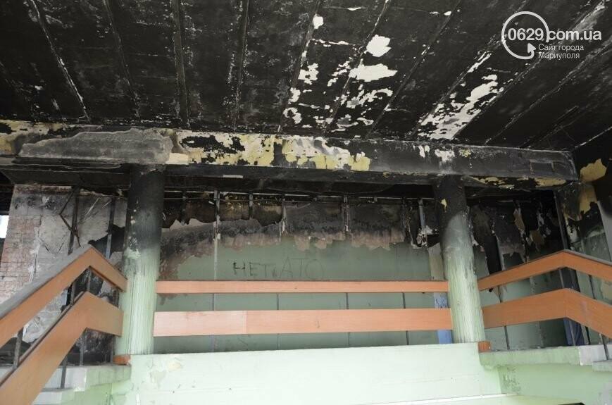 В Мариуполе стоимость ремонта сгоревшего здания горсовета завысили на миллион долларов, фото-2