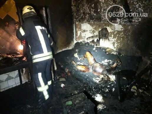 В Мариуполе на пожаре сгорела женщина (ФОТО, 18+), фото-9