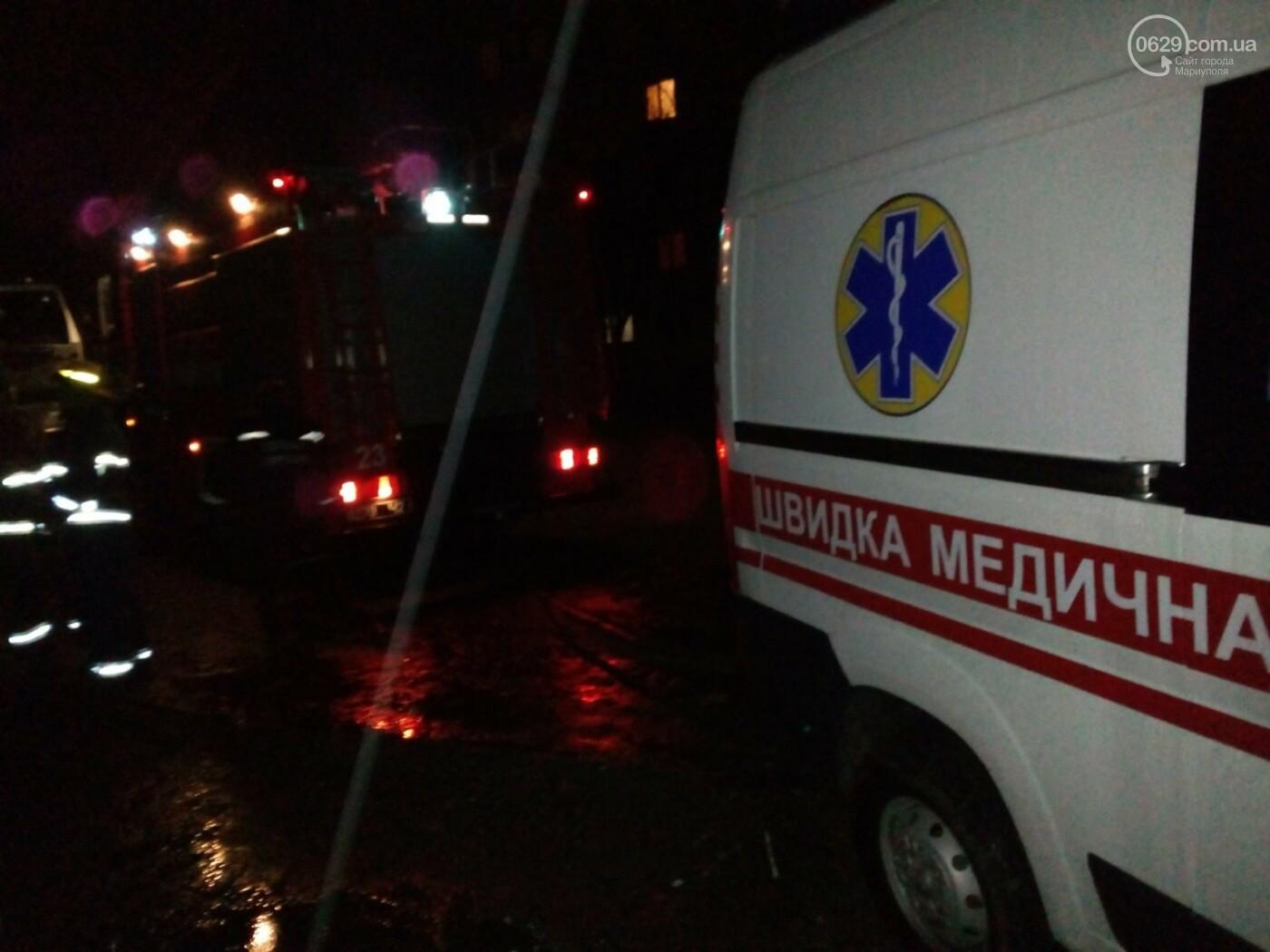 "В Мариуполе две машины ""скорой"" застряли на обочине (ФОТО), фото-2"