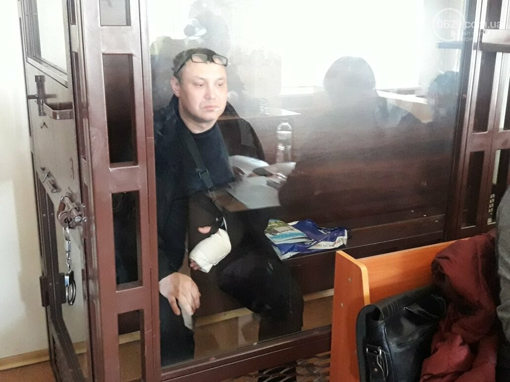 В Мариуполе суд оставил в СИЗО бывшего командира роты батальона ОУН Литвиненко (ФОТО), фото-9