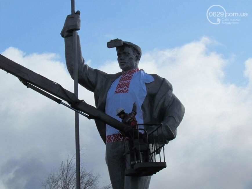Мариупольского металлурга нарядили в вышиванку и день рождения ММК им. Ильича. О чем писал 0629.com.ua 13 февраля, фото-3