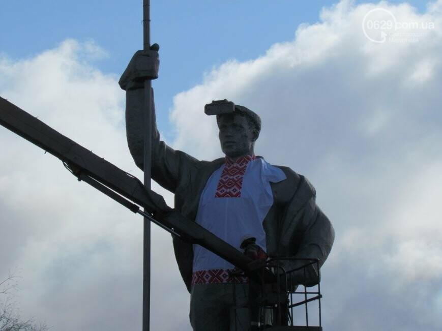 Мариупольского металлурга нарядили в вышиванку и день рождения ММК им. Ильича. О чем писал 0629.com.ua 13 февраля, фото-1