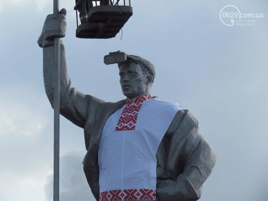 Мариупольского металлурга нарядили в вышиванку и день рождения ММК им. Ильича. О чем писал 0629.com.ua 13 февраля, фото-5