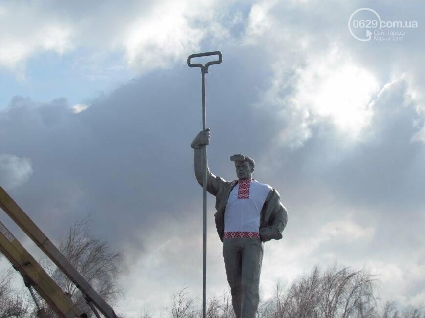 Мариупольского металлурга нарядили в вышиванку и день рождения ММК им. Ильича. О чем писал 0629.com.ua 13 февраля, фото-6