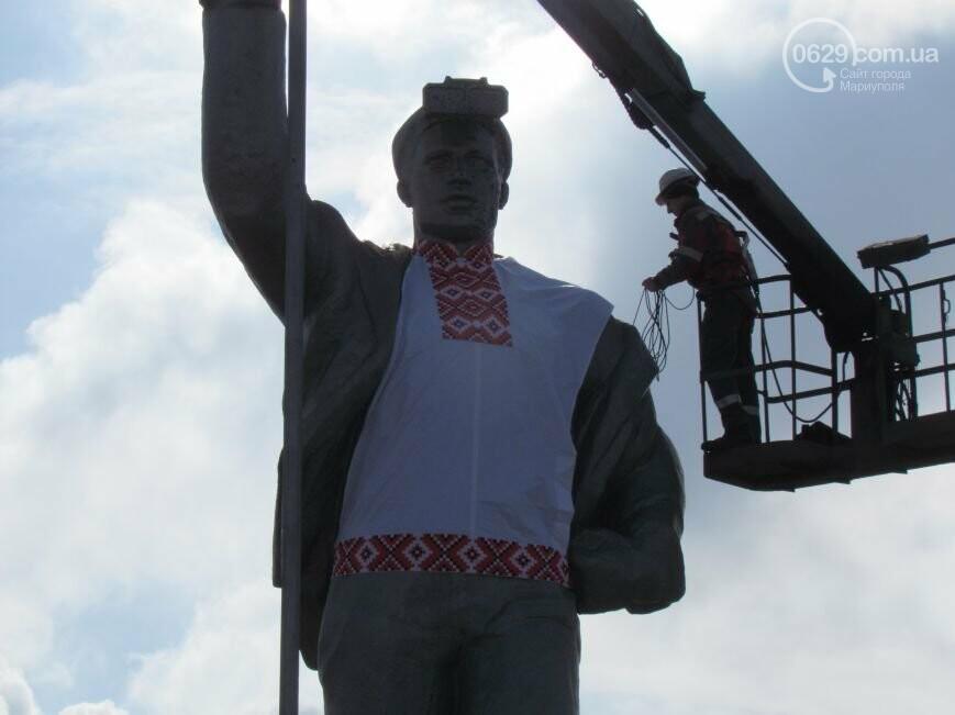 Мариупольского металлурга нарядили в вышиванку и день рождения ММК им. Ильича. О чем писал 0629.com.ua 13 февраля, фото-4