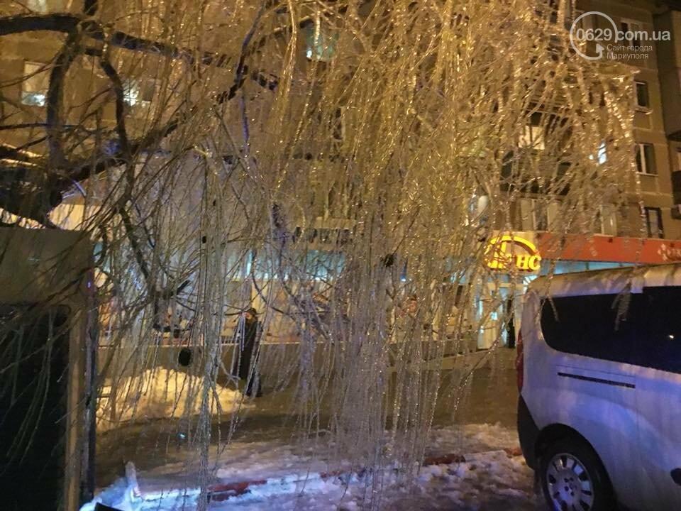 Ледяной плен свалил на дорогу десятки деревьев и обесточил тысячи домов (ФОТО+ВИДЕО), фото-1
