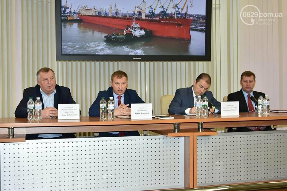 В Мариупольском порту обсудили, как будут работать следующие 20 лет (ФОТО), фото-8