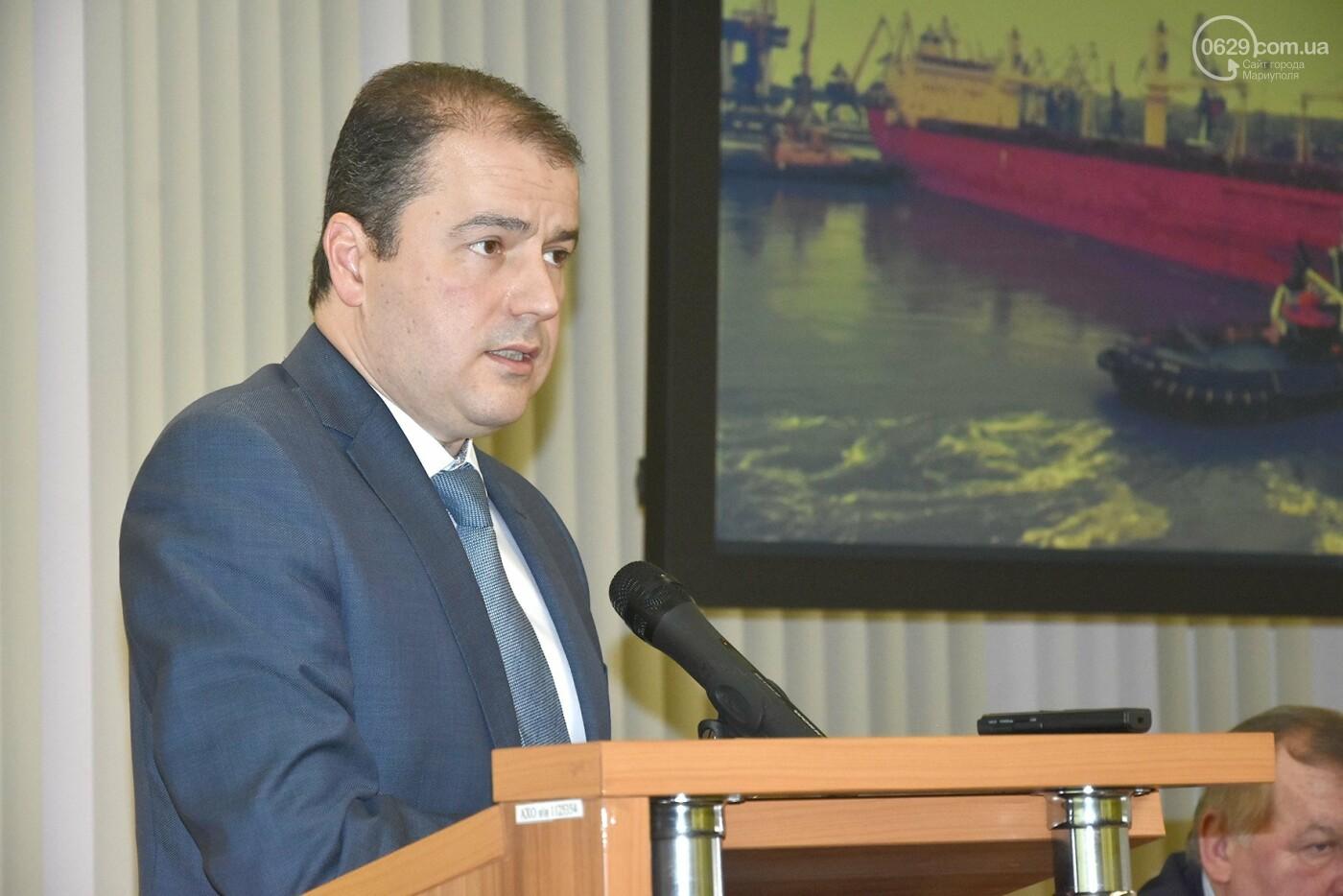 В Мариупольском порту обсудили, как будут работать следующие 20 лет (ФОТО), фото-11