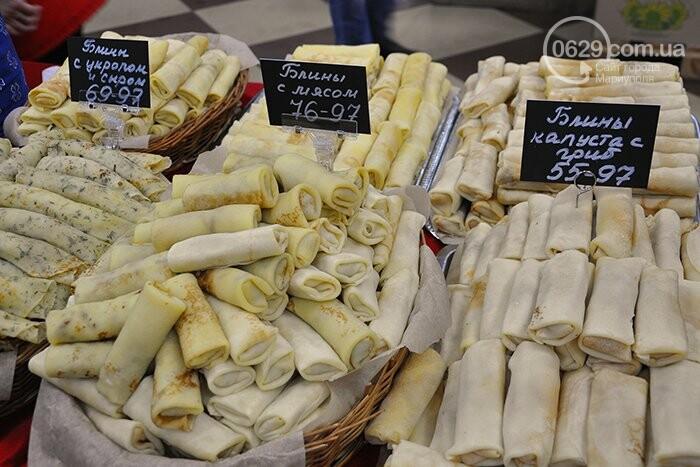 """Масленица в супермаркетах """"Яблочко"""":  покупателей угощают блинами с пылу с жару, фото-8"""