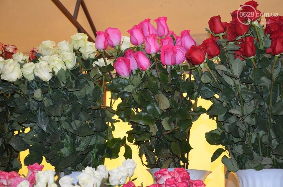 Розы и тюльпаны cтали самым ходовым товаром в Мариуполе (ФОТО+ВИДЕО), фото-23