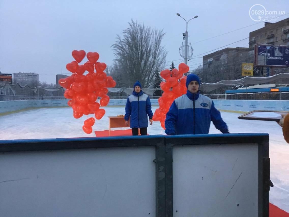 В Мариуполе  молодоженов расписали на льду (ФОТО, ВИДЕО), фото-10