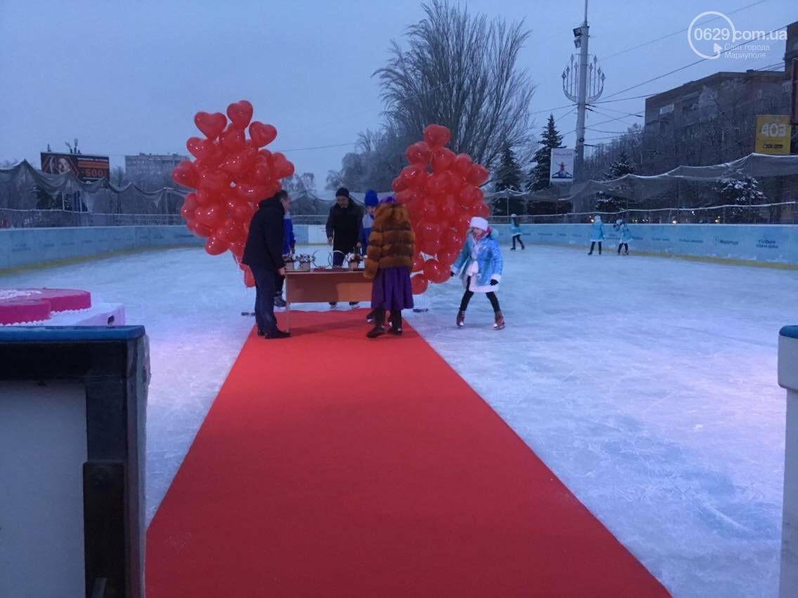 В Мариуполе  молодоженов расписали на льду (ФОТО, ВИДЕО), фото-8