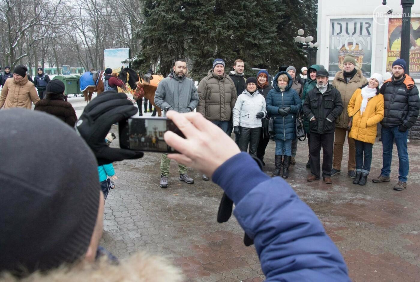 В Мариуполе пацифисты передумали проводить «антивоенный митинг» (ФОТО, ВИДЕО), фото-12