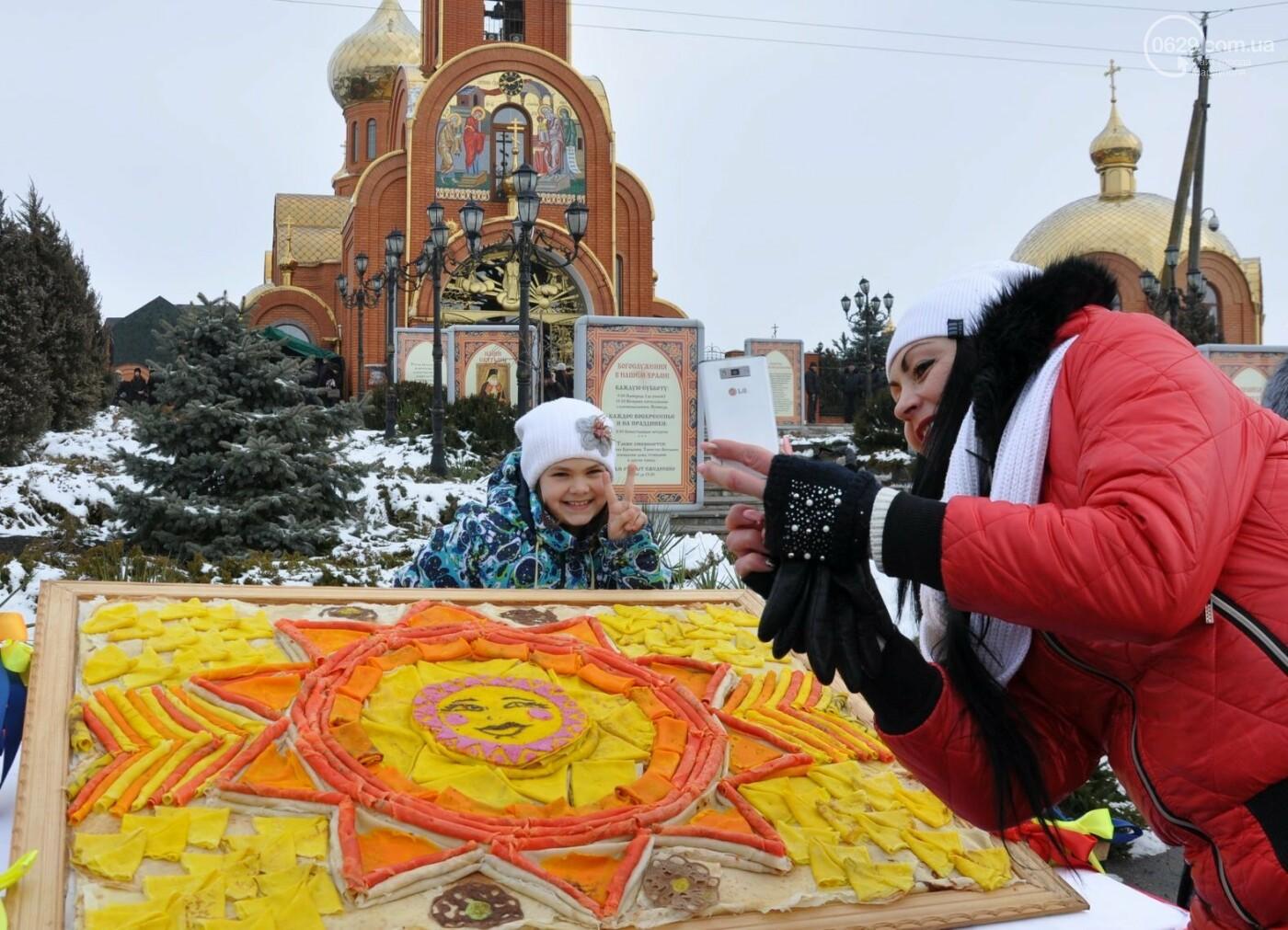 В селе Боевое испекли 17000 блинов и установили новый рекорд Украины, фото-10