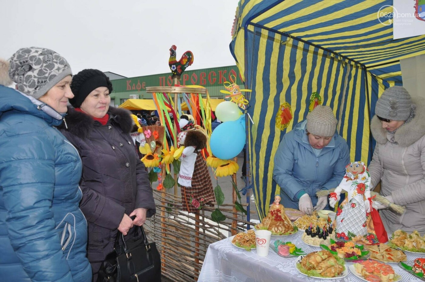 В селе Боевое испекли 17000 блинов и установили новый рекорд Украины, фото-15