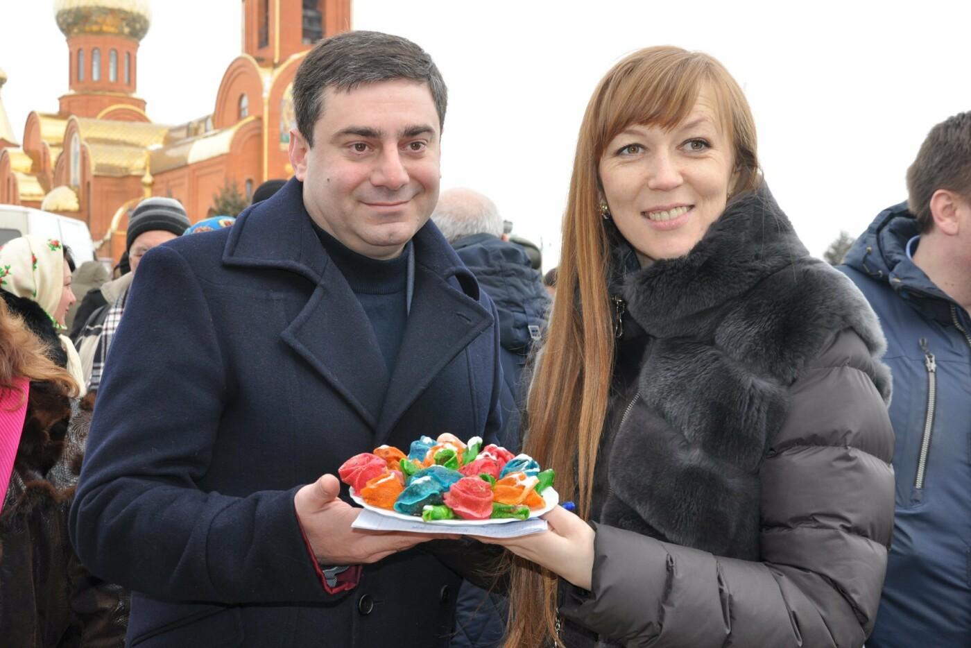 В селе Боевое испекли 17000 блинов и установили новый рекорд Украины, фото-29