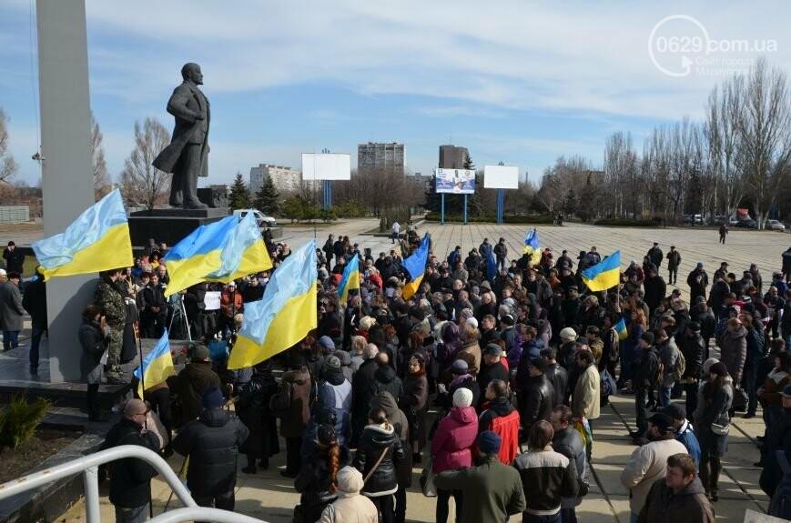 Мариупольцы порвали портрет Януковича и рейдерская атака на ММКИ. О чем 0629.com.ua писал 22 февраля, фото-4