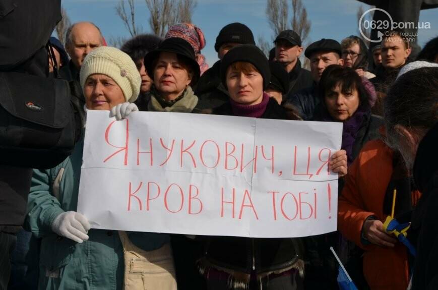 Мариупольцы порвали портрет Януковича и рейдерская атака на ММКИ. О чем 0629.com.ua писал 22 февраля, фото-2
