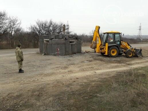Военные демонтировали блокпост по дороге в Сартану (ФОТО, ВИДЕО), фото-1