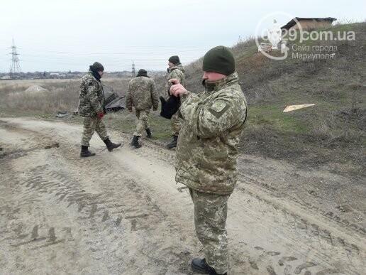 Военные демонтировали блокпост по дороге в Сартану (ФОТО, ВИДЕО), фото-3