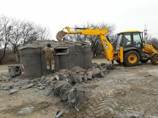 Военные демонтировали блокпост по дороге в Сартану (ФОТО, ВИДЕО), фото-6