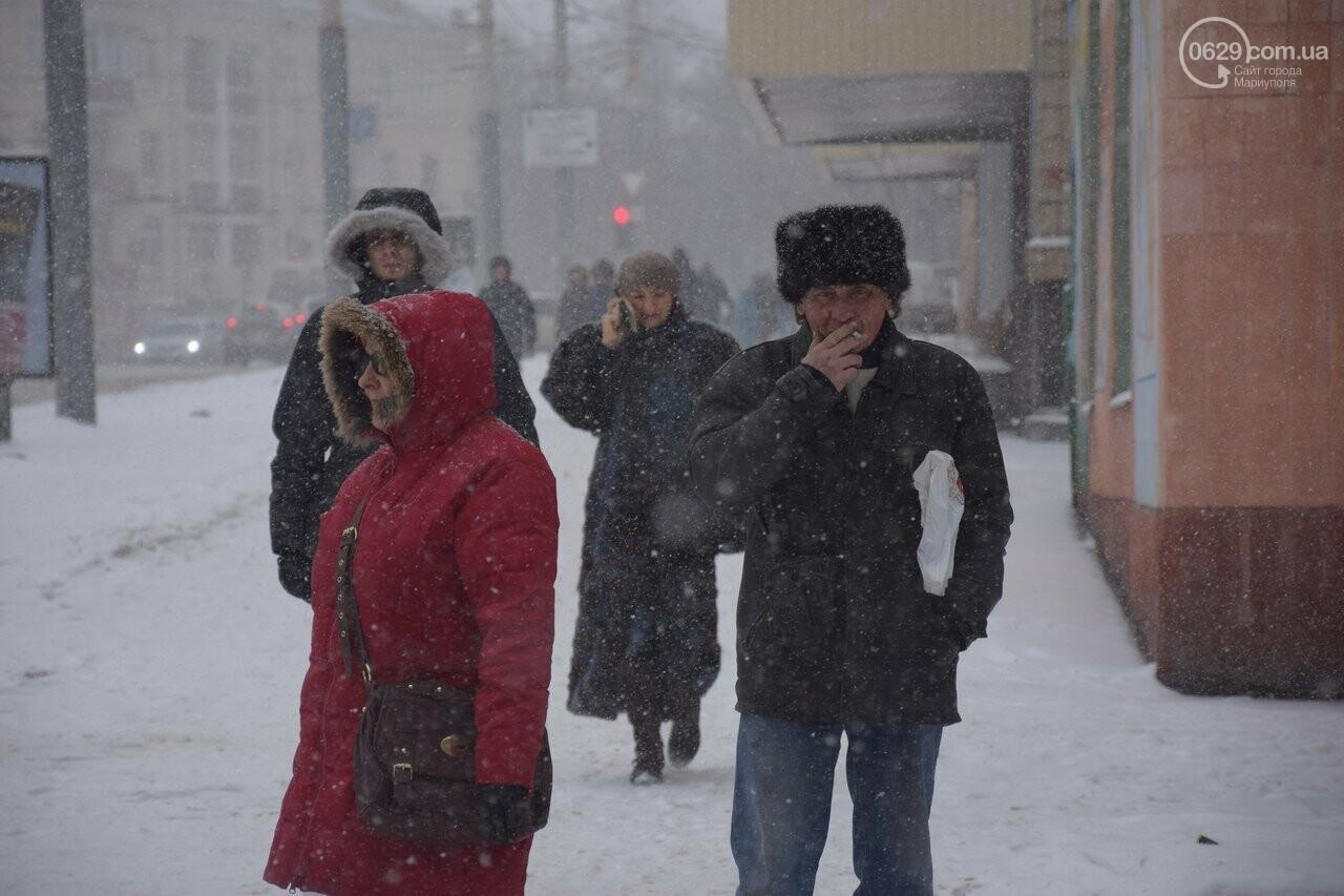 Мариуполь под снегом (ФОТОРЕПОРТАЖ), фото-1