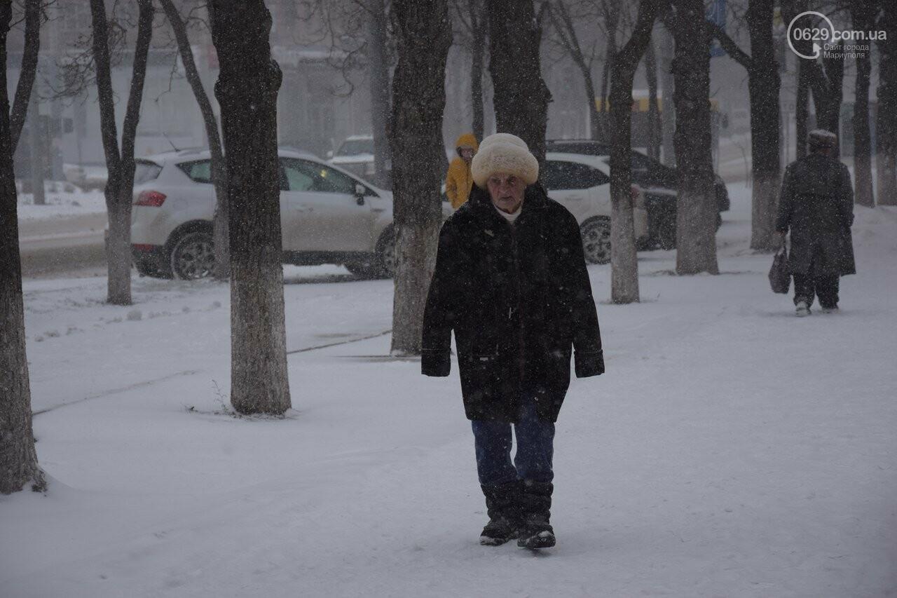Мариуполь под снегом (ФОТОРЕПОРТАЖ), фото-2