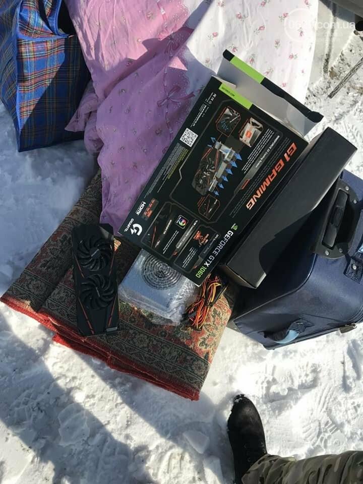 В Донецк снова пытались провезти приборы для майнинга криптовалюты (ФОТО), фото-1