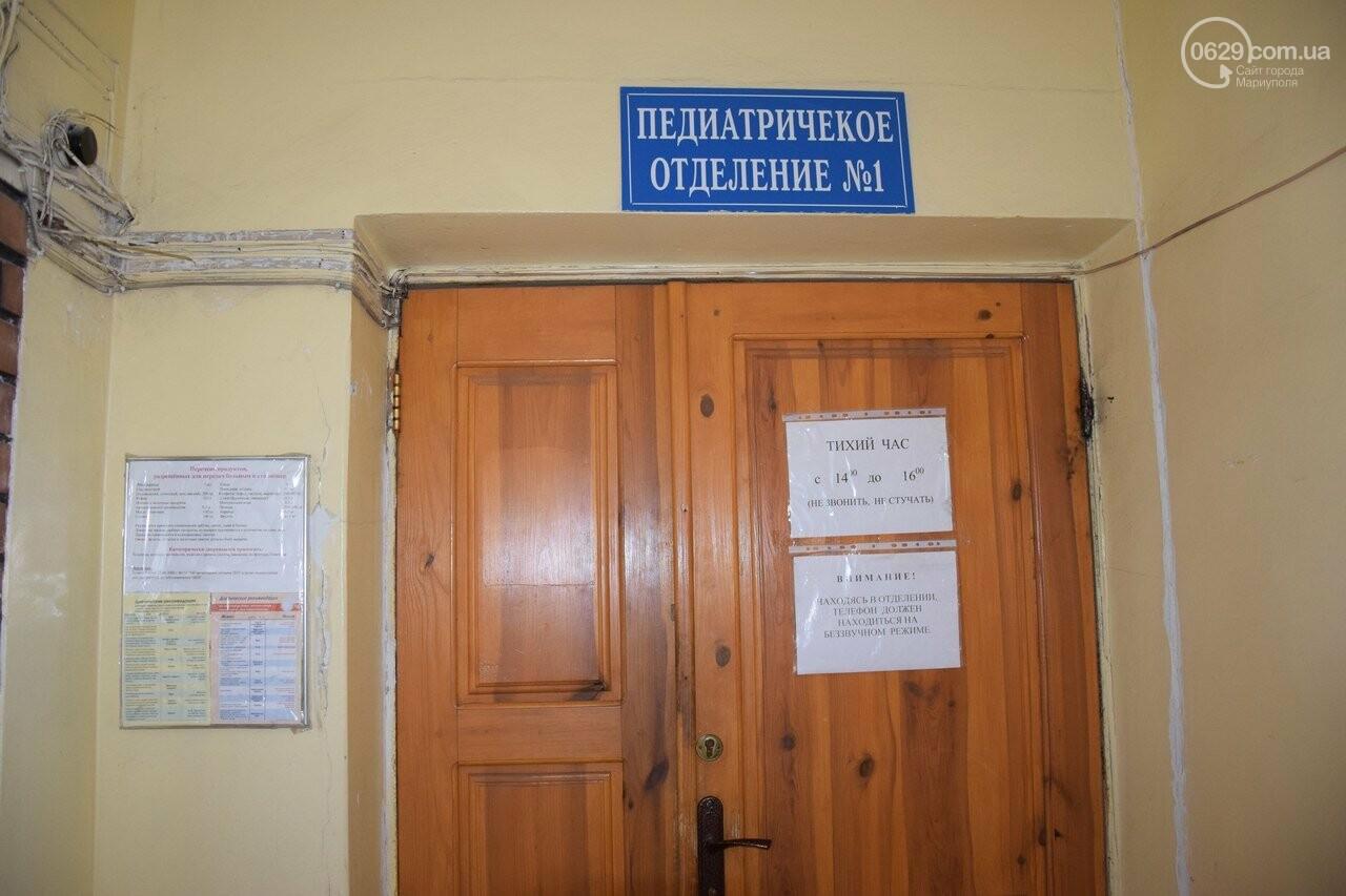 Педиатрия горбольницы №3: в каких условиях лечатся мариупольские дети, фото-3