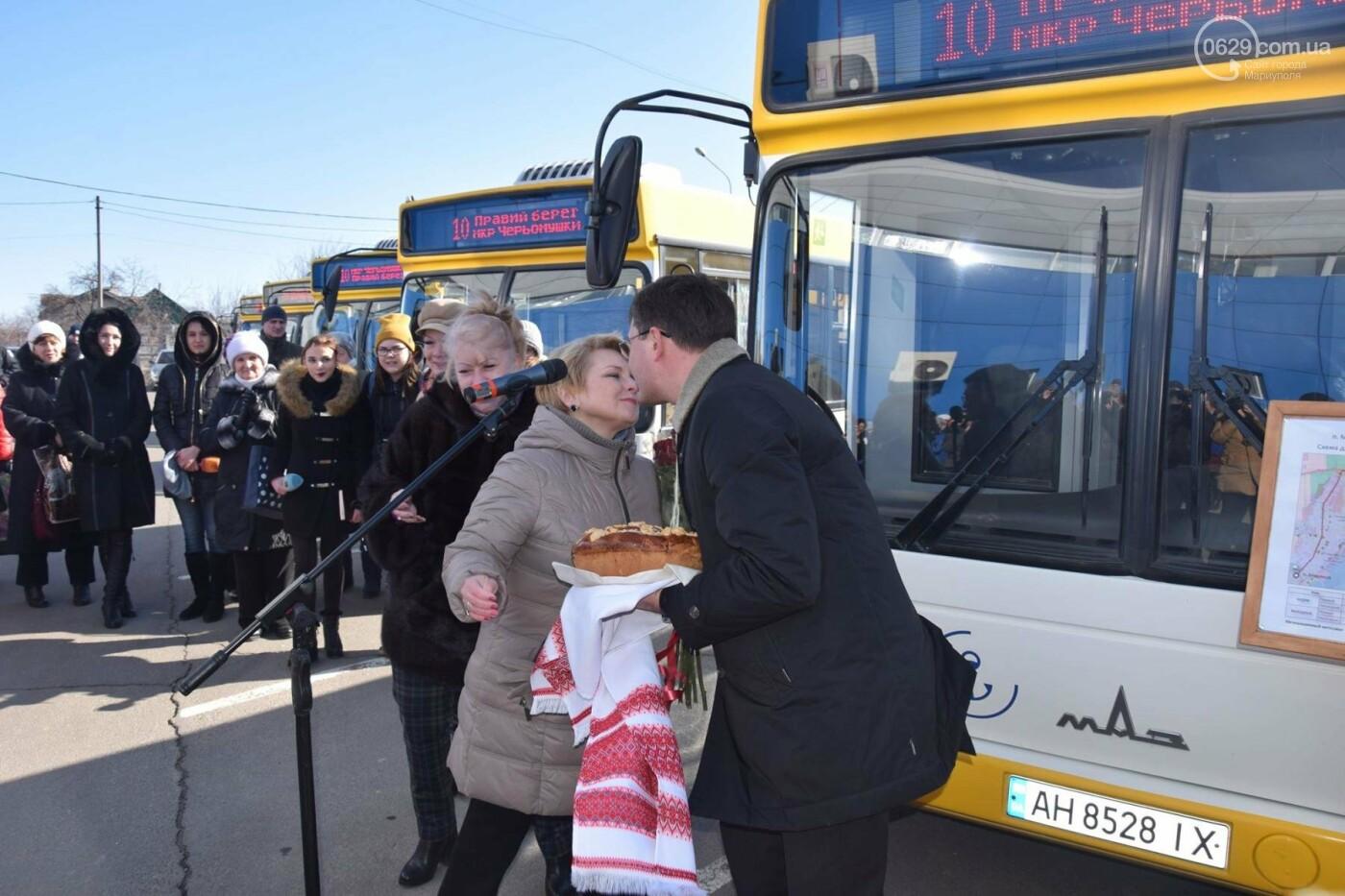 """В Мариуполе из МКР """"Черемушки"""" и поселка Моряков запустили два новых автобусных маршрута (ФОТО, ВИДЕО), фото-11"""