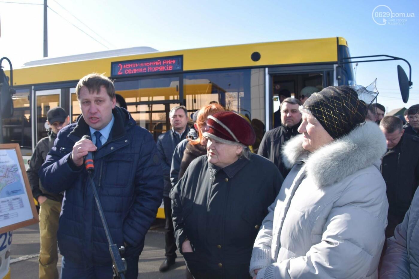 """В Мариуполе из МКР """"Черемушки"""" и поселка Моряков запустили два новых автобусных маршрута (ФОТО, ВИДЕО), фото-3"""
