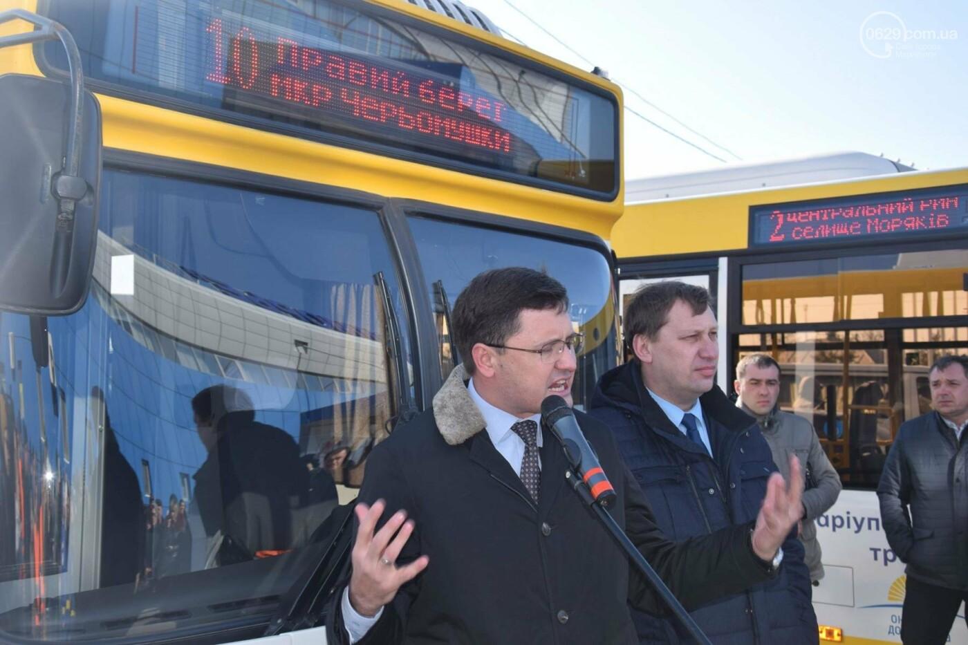 """В Мариуполе из МКР """"Черемушки"""" и поселка Моряков запустили два новых автобусных маршрута (ФОТО, ВИДЕО), фото-1"""