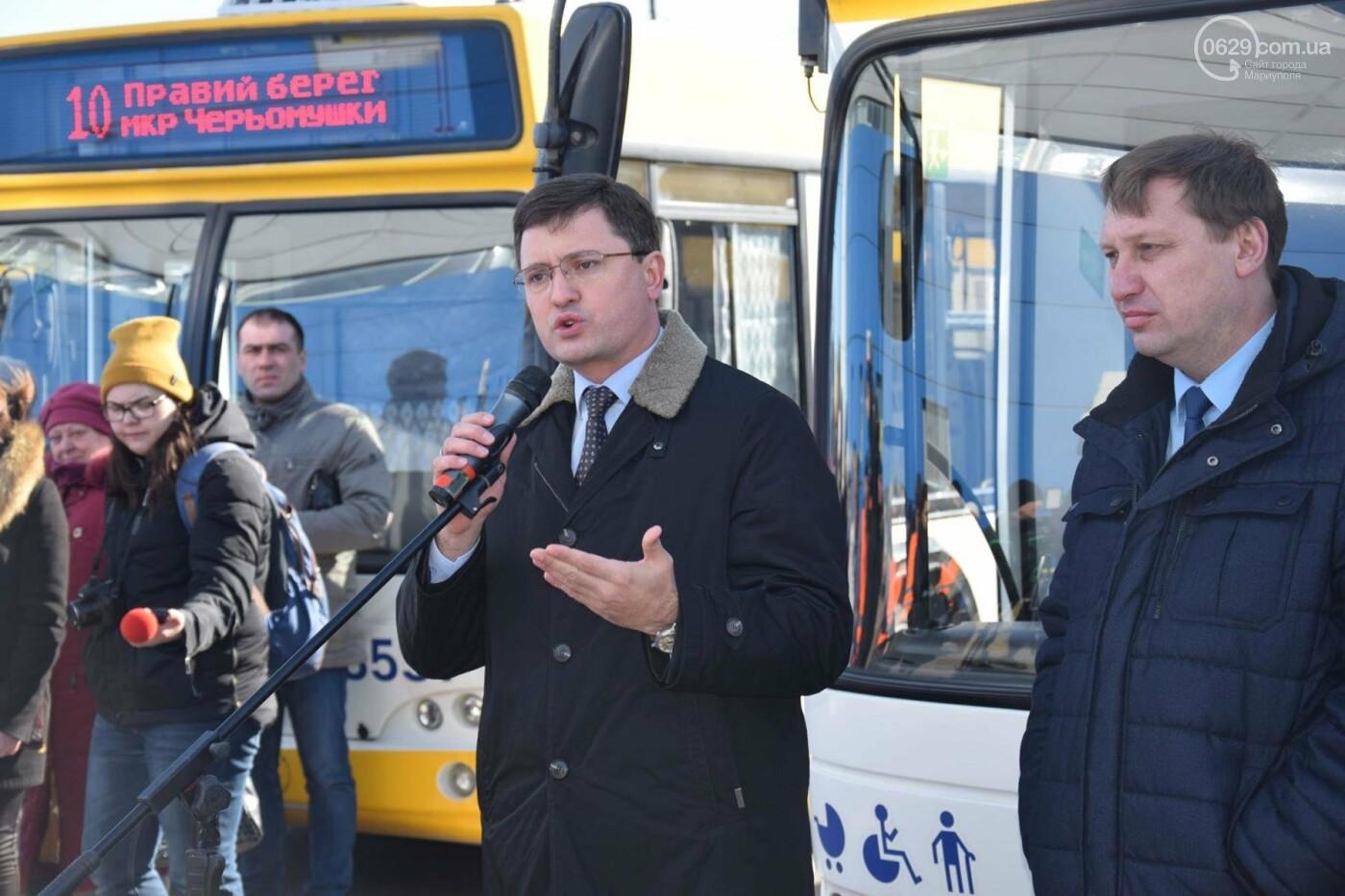 """В Мариуполе из МКР """"Черемушки"""" и поселка Моряков запустили два новых автобусных маршрута (ФОТО, ВИДЕО), фото-7"""