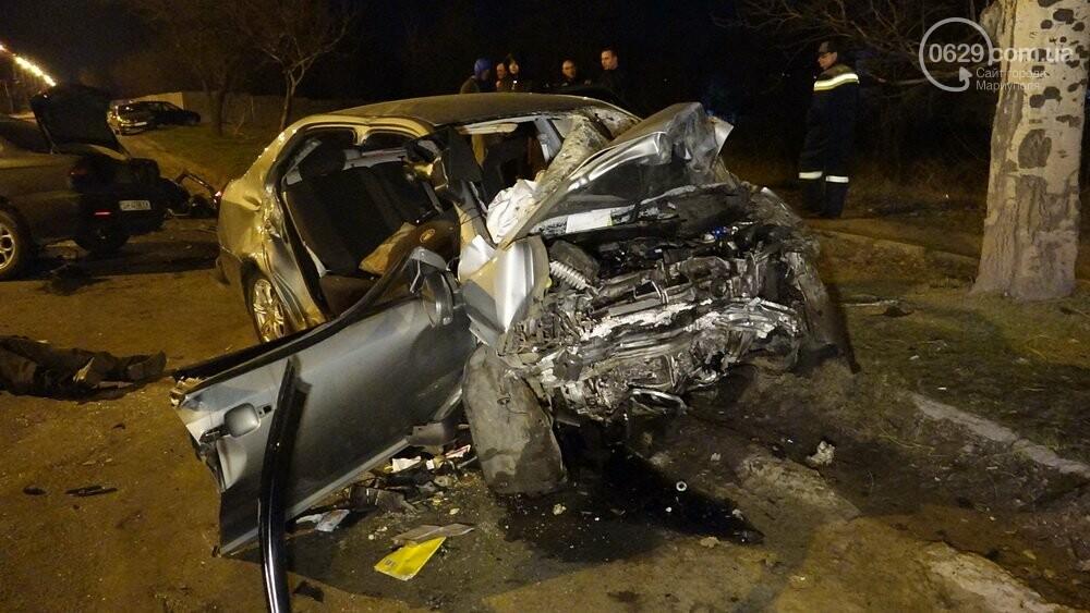 В жутком ДТП в Мариуполе погибли трое мужчин, женщина с ребенком в больнице (ФОТО 18+, ДОПОЛНЕНО), фото-13