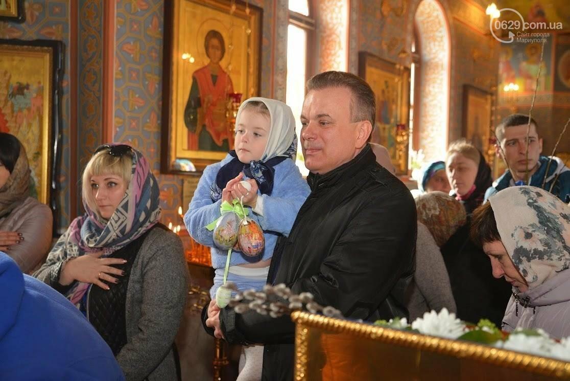 Вербное воскресенье в Свято-Покровском храме с.Боевое, фото-12