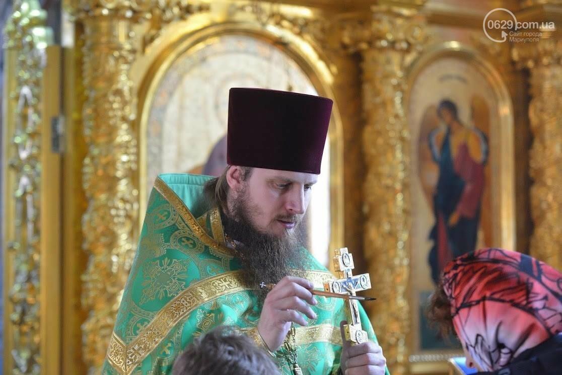 Вербное воскресенье в Свято-Покровском храме с.Боевое, фото-14