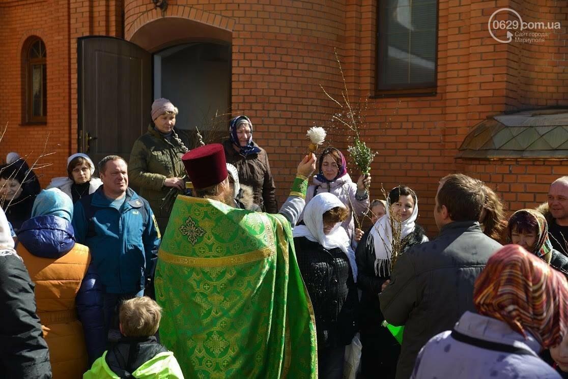 Вербное воскресенье в Свято-Покровском храме с.Боевое, фото-15