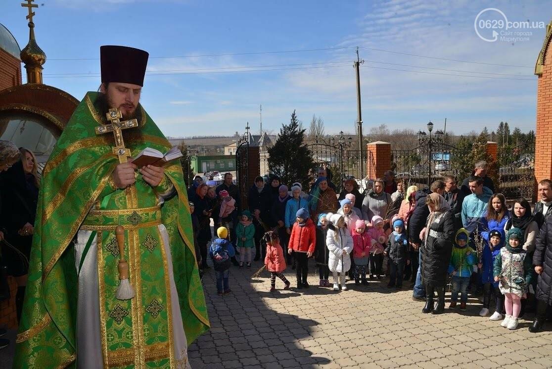 Вербное воскресенье в Свято-Покровском храме с.Боевое, фото-16